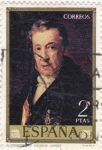 Stamps : Europe : Spain :   AUTORETRATO (Vicente López)  (41)