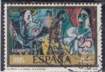 Stamps : Europe : Spain :  EL PINTOR Y LA MODELO(Piccaso)(41)