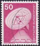 Stamps Germany -  Erdefunkstelle