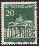 Sellos de Europa - Alemania -  Brandenburger Tor 20