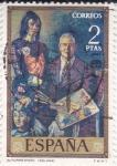 Stamps : Europe : Spain :  AUTORETRATO (Solana)   (41)