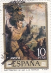 Stamps : Europe : Spain :  SAN FRANCISCO DE ASIS (Morales) (41)