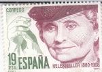 Stamps : Europe : Spain :  HELEN KELLER (41)
