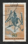 Stamps : Europe : Germany :  821 - Fósiles