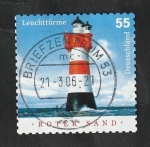 Stamps : Europe : Germany :  2235 - Faro de Roter Sand