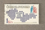 Stamps Czechoslovakia -  Censo nacional