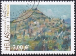Sellos de Europa - Grecia -  paisaje Mystras