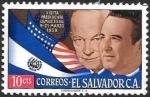 Sellos de America - El Salvador -  personajes