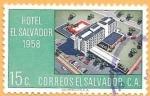 Stamps : America : El_Salvador :  hotel