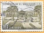 sello : America : El_Salvador : palacio nacional