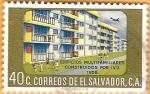 Stamps : America : El_Salvador :  edificio multifamiliar
