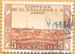 Stamps : America : El_Salvador :  cooperativa de pescadores