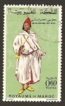 Stamps : Africa : Morocco :  203