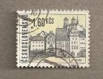 Stamps Czechoslovakia -  Cheb
