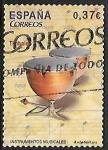Sellos de Europa - España -   Instrumentos Musicales  - Timbal