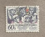 Stamps Czechoslovakia -  Mujeres trabajadoras