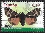 Stamps Europe - Spain -  Mariposas - Latreille's Pellicle