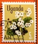 Stamps Africa - Uganda -  Flores