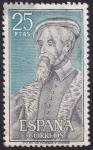 Stamps : Europe : Spain :  Andres de Laguna
