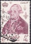 Sellos de Europa - España -  Carlos IV