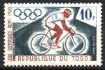 de Africa - Togo -  8th JUEGOS  OLÍMPICOS  DE  INVIERNO,  VALLE  PIEL  ROJA  DE  CALIFORNIA.  CICLISMO.