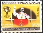 de America - Paraguay -  VISITA  DE  S. S. PABLO  VI  A  LA  O.N.U.  DANDO  LA  BENDICIÓN.