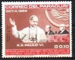 de America - Paraguay -  VISITA  DE  S. S. PABLO  VI  A  LA  O.N.U.  PABLO  VI,  U. THANT  Y  A.FANFANI.