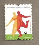 Stamps Portugal -  Campeonato Europeo Futbol 2008