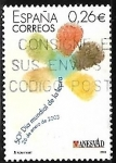 Sellos de Europa - España -  50º Dia Internacional de la Lepra