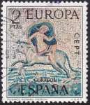Sellos de Europa - España -  Mosaico Romano Mérida