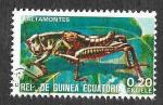 Sellos de Africa - Guinea Ecuatorial -  Yt115D - Saltamontes