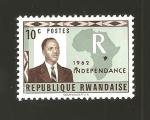 Sellos de Africa - Rwanda -  1