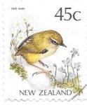 Sellos de Oceania - Nueva Zelanda -  aves