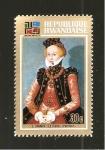 Sellos de Africa - Rwanda -  524