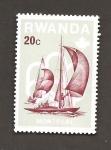 Stamps Rwanda -  738