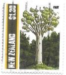 Sellos de Oceania - Nueva Zelanda -  árbol