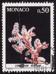 Sellos de Europa - Mónaco -  Coral rojo