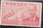 Stamps Spain -  JUAN DE LA CIERVA (41)