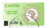 Sellos de Africa - República Democrática del Congo -  aniversarios