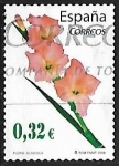 Sellos de Europa - España -  Flores - Gladiolo