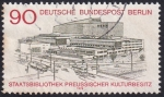 Stamps : Europe : Germany :  Staatsbibliothek