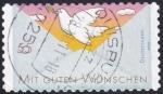 Sellos de Europa - Alemania -  saludos paloma