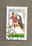 Sellos de Europa - Hungría -  Campeonato  Futbol Méjico 1986