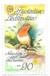 Sellos del Mundo : Europa : Liechtenstein :  aves