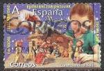 Sellos de Europa - España -  Construyendo el Belén