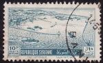 Stamps Syria -  Puerto de Lattaquie