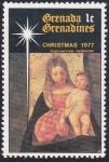 Sellos del Mundo : America : Granada : Navidad '77