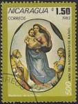 Sellos de America - Nicaragua -  Aniv. Nacimiento Rafael