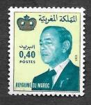 Sellos de Africa - Marruecos -  512 - Rey Hassan II de Marruecos