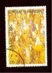 Sellos de Africa - Santo Tomé y Principe -  INTERCAMBIO